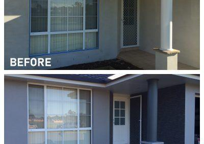 Delux Painting Exterior Before and After Gallery 05 (Rochedale, Springwood, DaisyHill, Shailer Park)