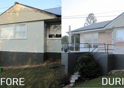 Delux Painting Exterior Before and After Gallery 04 (Rochedale, Springwood, DaisyHill, Shailer Park)
